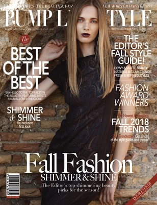 PUMP Lifestyle - The Beauty & Fashion Edition | November 2018 | V.VIII