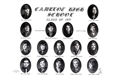 1971 Camelot High School, Cairo, Illinois