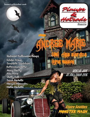 Pinups & Hotrods Issue# 9