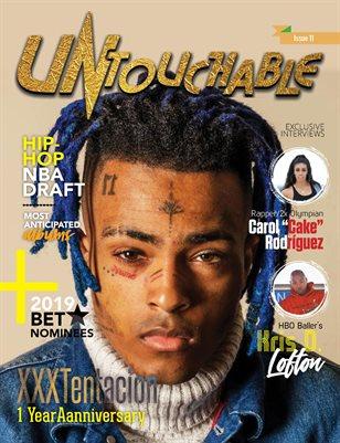 Untouchable Magazine - Issue 11: XXXTentacion 1 Year Anniversary