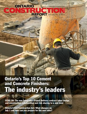 Ontario Construction Report June 2018