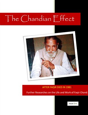 Further Researches in the Life and Work of Faqir Chand