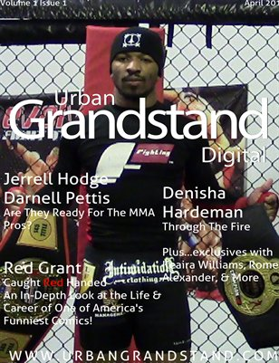 Urban Grandstand Digital, April 2014, JH Cover