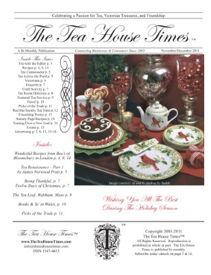 The Tea House TImes Nov/Dec 2011 Issue