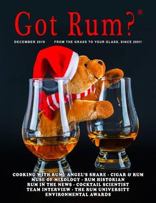 """""""Got Rum?"""" December 2019"""