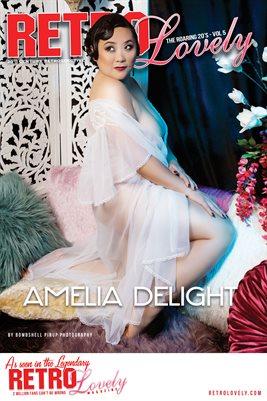 Amelia DeLight Roaring 20s Cover Poster