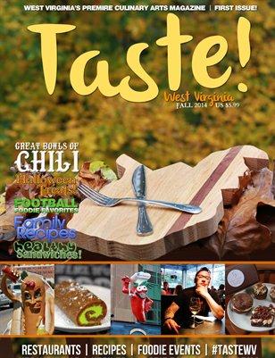 Taste! WV Magazine - Fall 2014