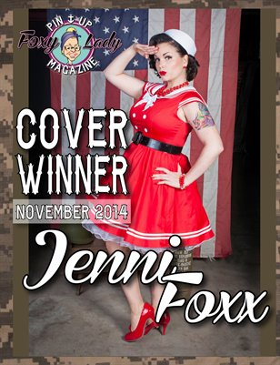 Military - FoxyLady PinUp Magazine - Issue#3 - November 2014