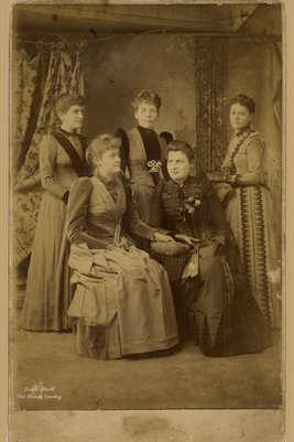 1890 Ladies (Clara Day Allen of Glasgow, Ky- Marie E. Pierce of Memphis, Tn. and others)