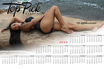 Miss Lesha Calendar