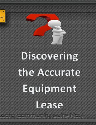 Discovering the Accurate Equipment Lease