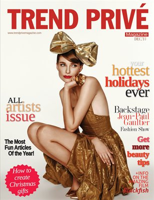 Trend Privé Magazine- Winter Issue 2013