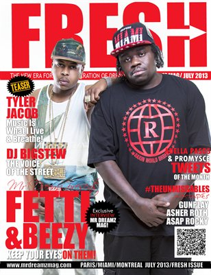 FETTI & BEEZY MR DREAMZ FRESH EDITION LIMITED