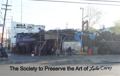 NOLA 'Nacular presents The Society to Preserve the Art of Lester Carey