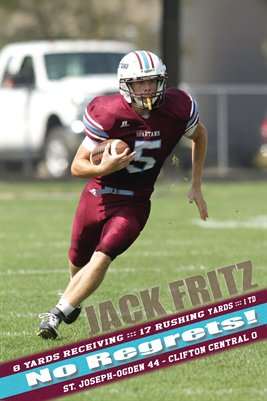 Jack Fritz Clifton Central Game Day Print