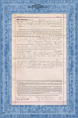 1906, Short Country Lease, H.A. Dunham & James M. Wills, Tazewell County, Illinois