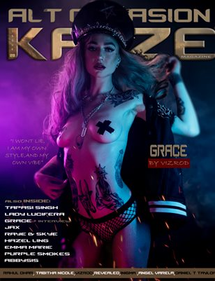 Kayze magazine issue 28 - ALT OCCASION -GRACE