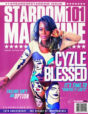 STARDOM101 MAGAZINE CYZLE BLESSED: SEPT 2020