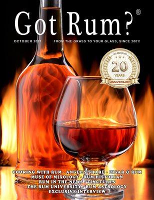"""""""Got Rum?"""" October 2021"""