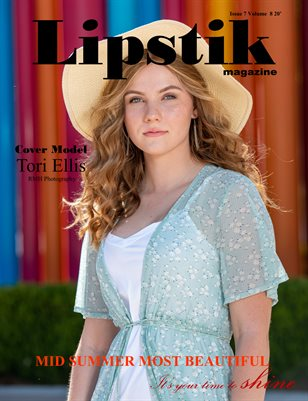 Lipstik magazine Issue 7 Volume 8 2020 MidSummer Most Beautiful