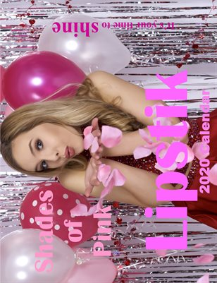 Lipstik magazine Shades of Pink 2020 Calendar