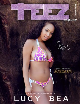 Teez Magazine Volume II - Lucy Bea Swimwear Issue