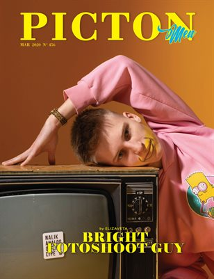 Picton Magazine MARCH  2020 N456 Men Cover 5