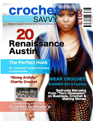 Crochet Savvy Magazine Summer 2013 Issue