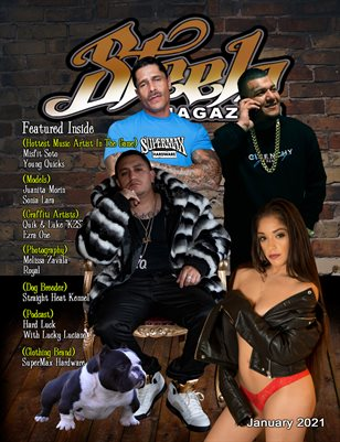 Steelo Magazine - January 2021 issue