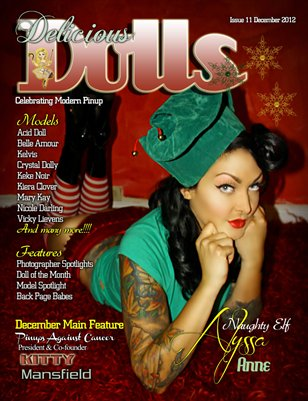Delicious Dolls Issue 11 - December - X-Mas Cover