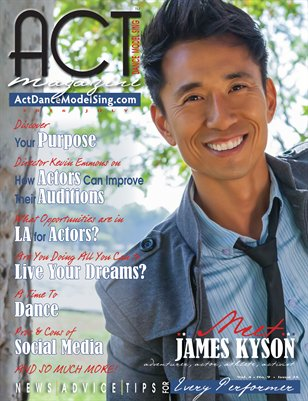 ACT Dance Model Sing Magazine Issue 25