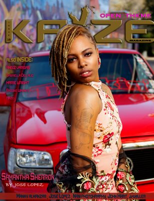 Kayze Magazine issue 19 (SAMANTHA SHERRON)