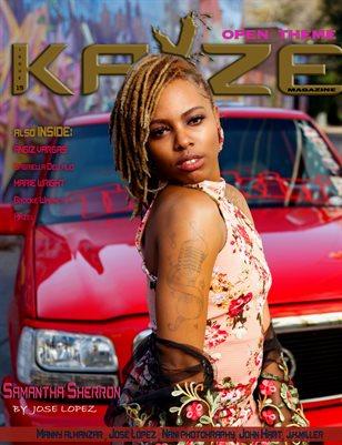 Kayze Magazine issue 19 (SAMANTHA SHERRON)