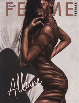 Femme Rebelle Magazine Aug 2019 ALLURE ISSUE - Martin Higgs Cover