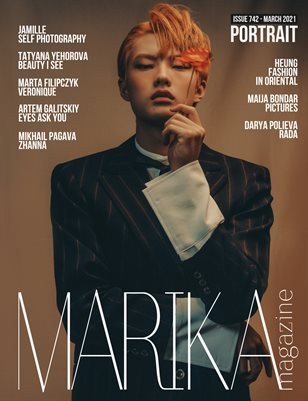 MARIKA MAGAZINE PORTRAIT (ISSUE 742 - MARCH)
