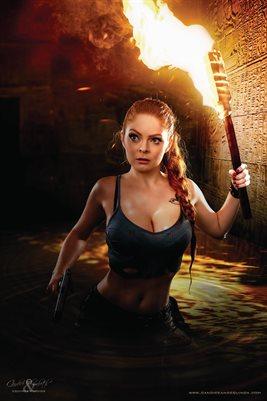 Lara Croft Poster 2