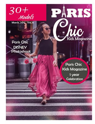 Paris Chic kids magazine March 13