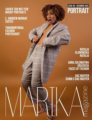 MARIKA MAGAZINE PORTRAIT (ISSUE 481 - DECEMBER)