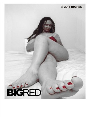 Big Red Toes Flyer