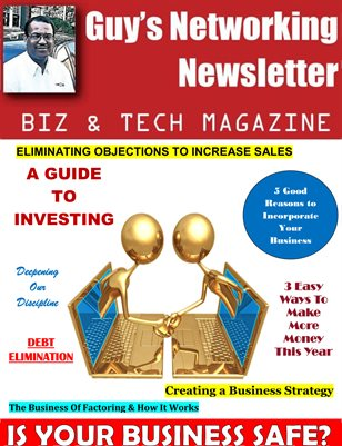 Guy's Networking Newsletter Biz and Tech Magazine June Issue