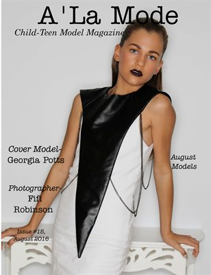 PDF w/Print Issue 15 A'La Mode Child-Teen Model Magazine
