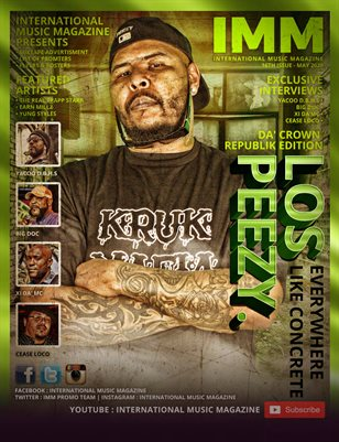 International Music Magazine - 16TH ISSUE - LOS PEEZY