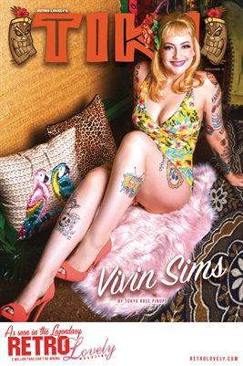 TIKI Volume 3 - Vivin Sims Cover Poster