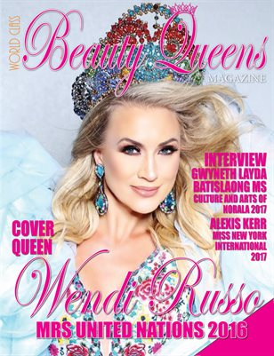 World Class Beauty Queens Magazine with Wendi Russo