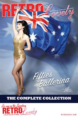 Fifties Ballerina Cover Poster