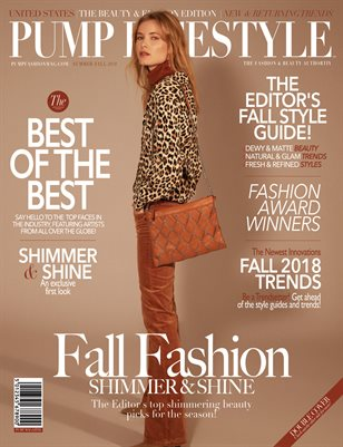PUMP Lifestyle - The Beauty & Fashion Edition | November 2018 | V.IV