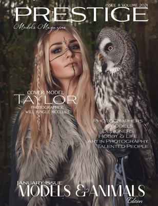 Prestige Models Magazine_ Models & Animals 8/2021