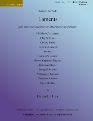 Laments - Treble Clef Solo