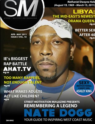 "Street Motivation Mag Issue 3 Vol 10 ""Your Guide To Inspiring Indie Artist"""