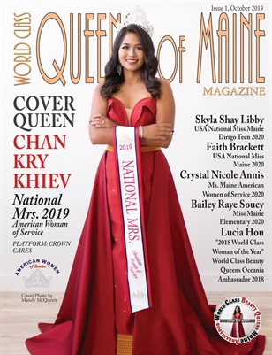 World Class Queens of Maine Magazine Issue 1 with Chan Kry Khiev